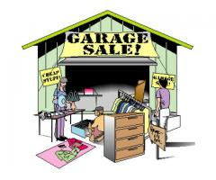 Big garage sale!
