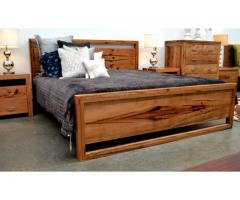 Timber king size bed