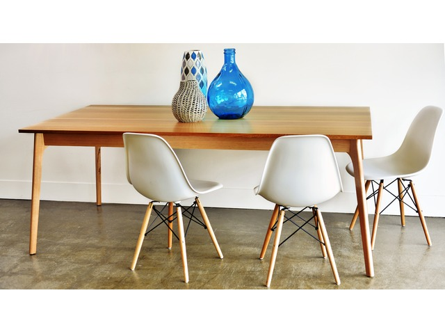 Shop For Contemporary Solid Timber Dining Tables in Melbourne - 1/2