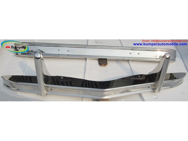Citroen 2CV bumper (1948–1990) in stainless steel - 1/4