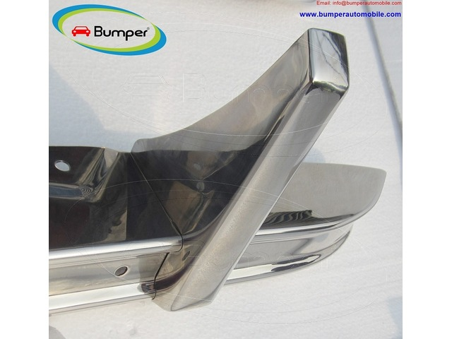 Citroen 2CV bumper (1948–1990) in stainless steel - 2/4