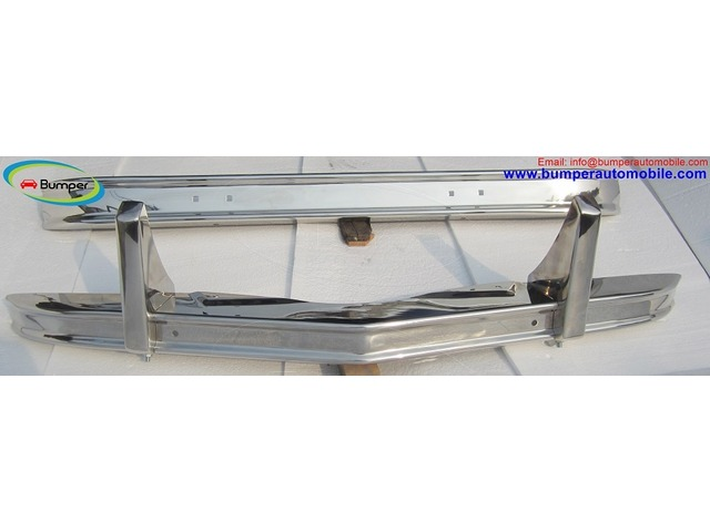 Citroen 2CV bumper (1948–1990) in stainless steel - 4/4
