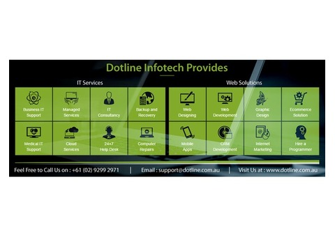 Dotline Infotech an Internet Marketing Company in Sydney