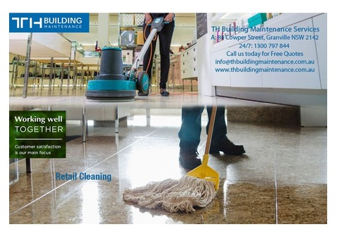 TH Building Maintenance Services - Retail Store Cleaning Granville