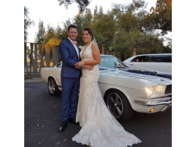 Specially Modified Mustang for wedding hire - 2/3