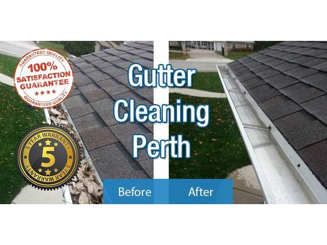 Commercial Gutter Cleaning - 3/5