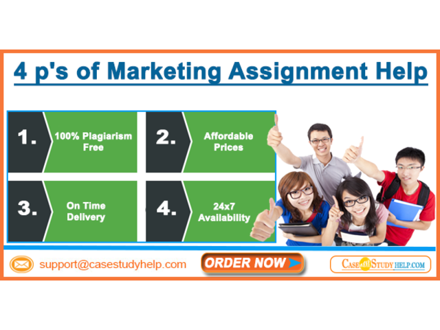 Preparing for 4 P's of Marketing Assignment with Case Study Help - 1/1