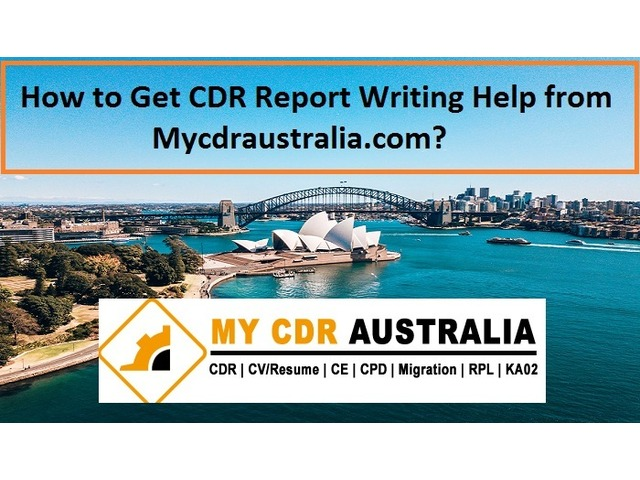 Get CDR Report Writing Help from Mycdraustralia.com - 1/1
