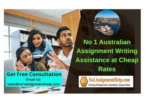 No 1 Australian Assignment Writing Assistance at Cheap Rates