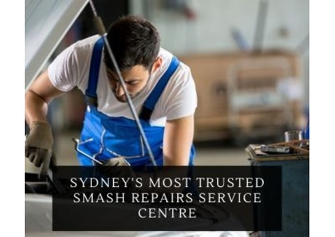 Sydney's Most Trusted Smash Repairs Service Centre