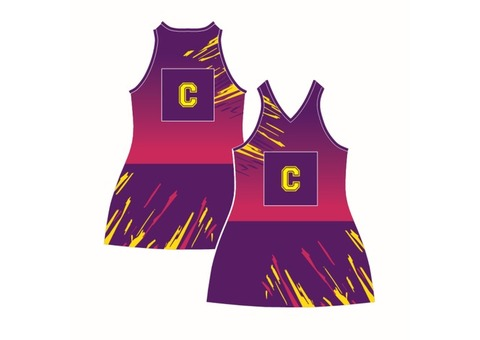 Netball dresses Perth, Custom made netball uniforms and Sports clothing - Mad Dog Promotions