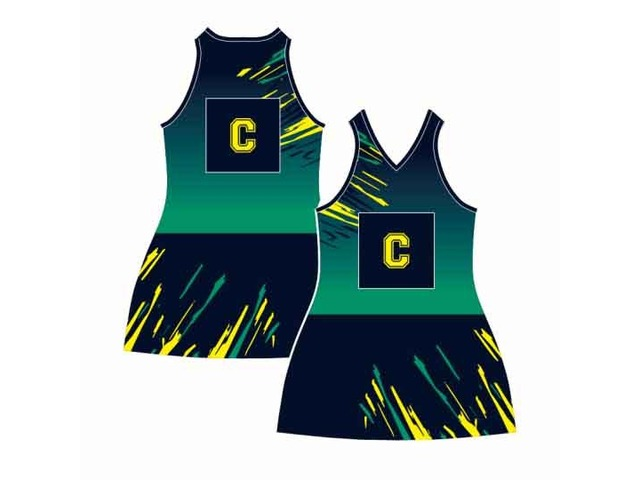 Netball dresses Perth, Custom made netball uniforms and Sports clothing - Mad Dog Promotions - 2/4