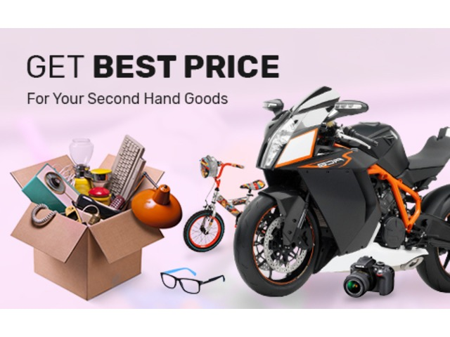 Sell Your Second Hand Goods for the Best Price at Mega Cash - 1/1