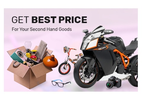 Sell Your Second Hand Goods for the Best Price at Mega Cash