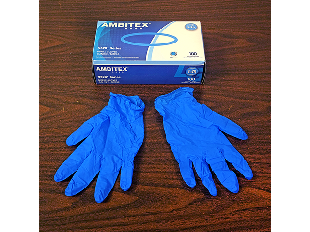 Available Powder free Nitrile gloves for sale - 1/1