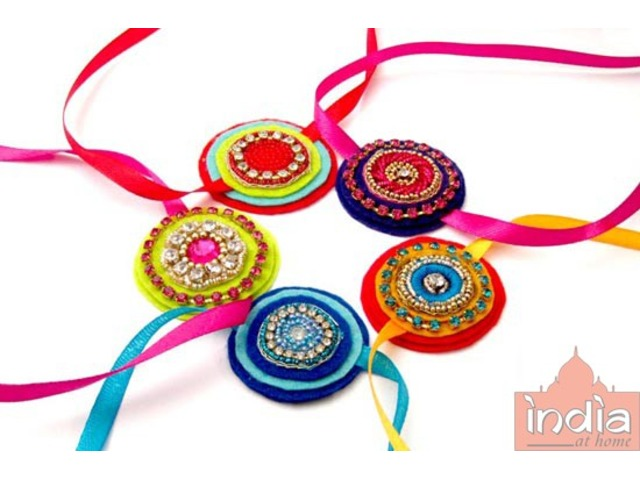 Order Online Rakhi from India At Home - 1/1