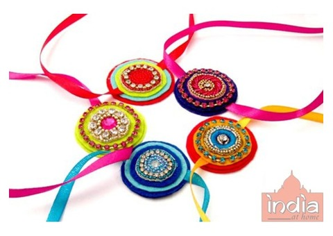Order Online Rakhi from India At Home